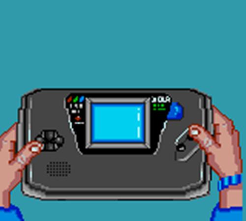 Cameo : la Game Gear dans Surf Ninjas (1993)