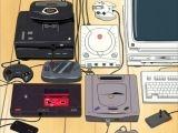 Cameo : Out Run et plusieurs consoles dans Haré + Guu (2001)
