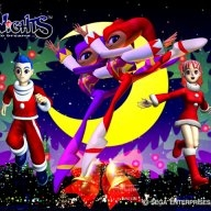 Fonds d'écran officiels : Christmas Nights (Sega Saturn)