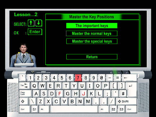 The Typing of the Dead : un clavier AZERTY optimisé pour la version PC