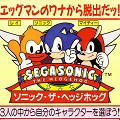 SegaSonic the Hedgehog : PCB, Service Manual, Instructions JAP