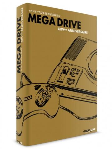 Le livre MEGA DRIVE 25ème anniversaire en pré-commande